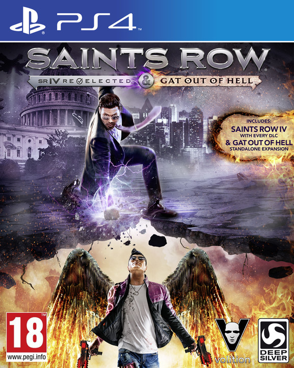 Saints Row IV: Re-Elected + Gat Out of Hell First Edition - PS4