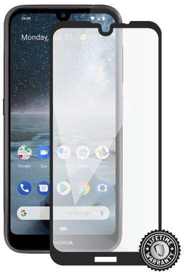 Screenshield ochrana displeje Tempered Glass pro Nokia 4.2 (2019), full cover, černá