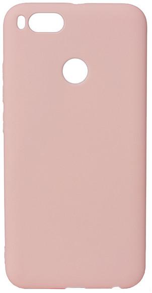 EPICO pružný plastový kryt pro Xiaomi Mi A1 SILK MATT - růžový