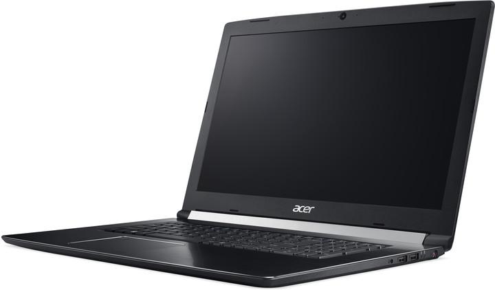 Acer Aspire 7 kovový (A717-71G-75W6), černá