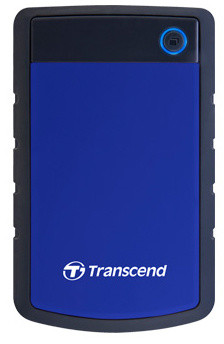 Transcend StoreJet 25H3B - 2TB, modrá