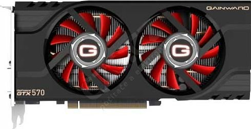 Gainward GTX 570 1280MB, PCI-E