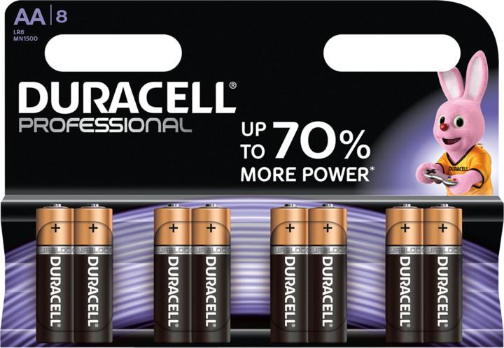 Duracell Professional AA 1500, 8ks