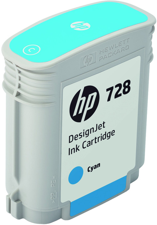 HP F9J63A no. 728 (40ml), cyan