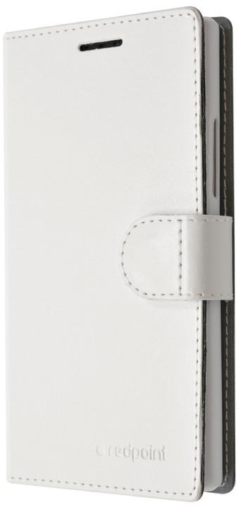 FIXED FIT pouzdro pro Huawei P8, kolekce RedPoint, bílá