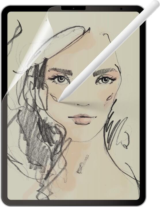 FIXED ochranná fólie Paperlike pro iPad Pro 11 (2018/2020)/Air (2020), transparentní