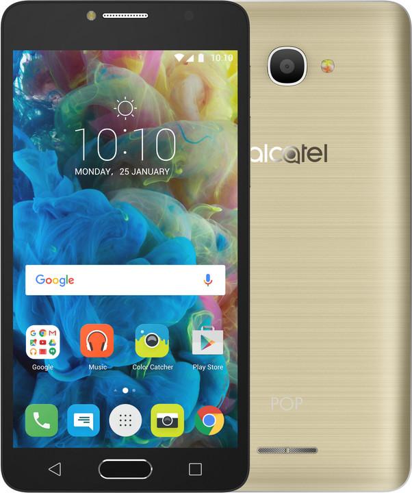 ALCATEL OT-5095K POP 4s, zlatá