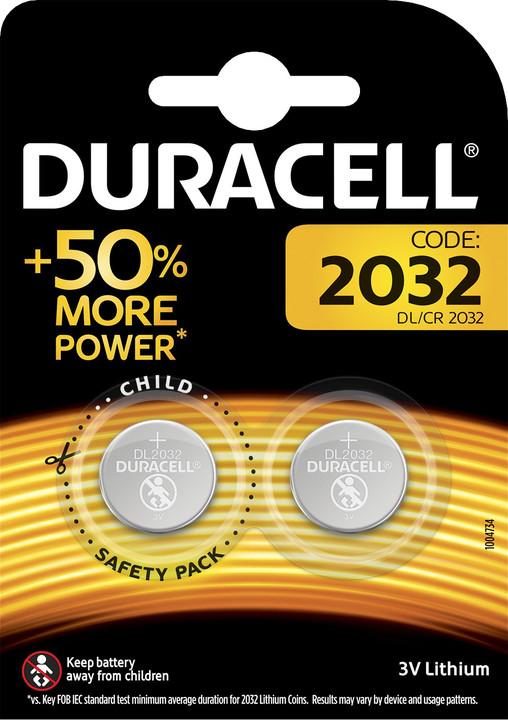 Duracell baterie DL 2032, 2ks