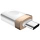 Mcdodo redukce z USB 3.0 A/F na USB-C s OTG, zlatá