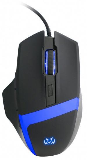 C-TECH Kyllaros, černá/modrá
