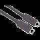 PremiumCord kabel USB4™ / Thunderbolt 3, 8K@60Hz, certifikovaný USB-IF, PD 100W, 0.8m