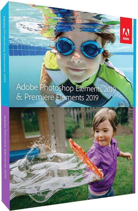 Adobe Photoshop Elements + Premiere Elements 2019 Studenti a Učitelé CZ