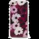 EPICO pružný plastový kryt pro iPhone 7 VIOLET FLOWERS