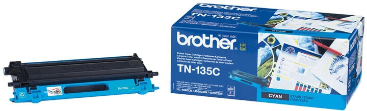 Brother TN-135C, cyan