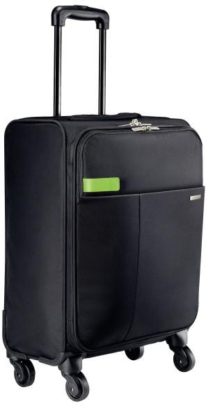 Leitz Complete Smart Traveller, kufr s otočnými kolečky, černá