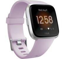 Fitbit Versa Lite - Lilac/Silver Aluminum - FB415SRLV