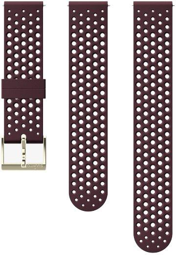 Suunto Athletic 1 silikonový řemínek velikost S a M 20mm, tmavě fialový