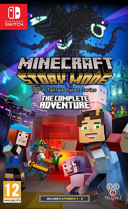 Minecraft: Story Mode - The Complete Adventure (SWITCH)