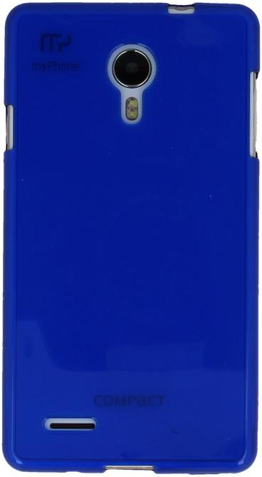 myPhone silikonové pouzdro pro Compact, transparentní modrá