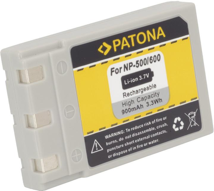 Patona baterie pro Konica DRLB4, Minolta NP500/600 850mAh