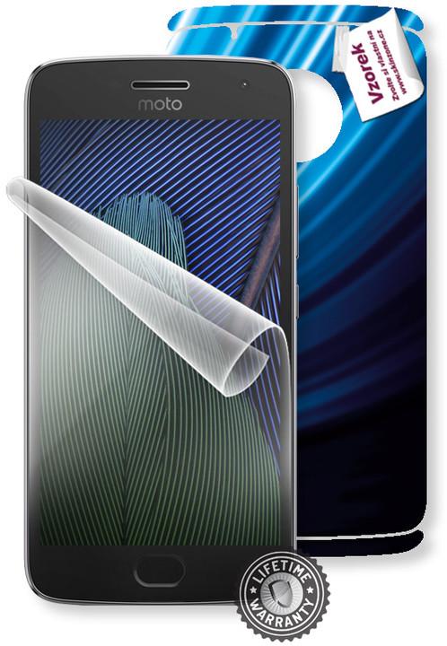 Screenshield fólie na displej + skin voucher (vč. popl. za dopr.) pro Motorola Moto G5 PLUS XT1685