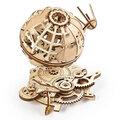 UGEARS stavebnice - Globus, dřevěná, mechanická