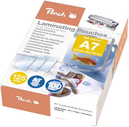 Peach laminovací fólie A7, 125mic, 100ks