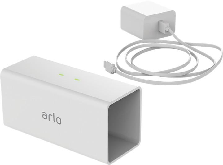 NETGEAR Arlo Pro - Síťový adaptér a dobíječka baterie - výstupní konektory: 2