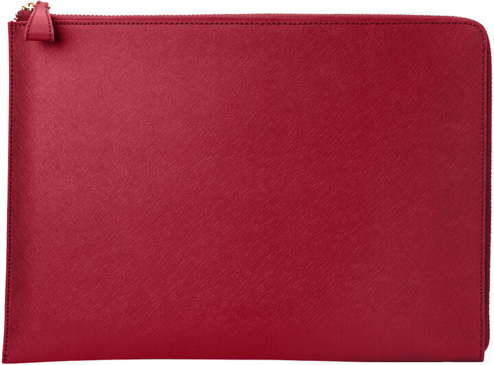 "HP Spectre 13.3"" Split Leather Sleeve (Empress Red)"