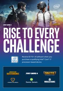 Intel Gaming Bundle k vybraným notebookům ASUS