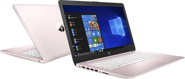 HP Stream (14-ds0007nc), růžová + Office 365 Personal