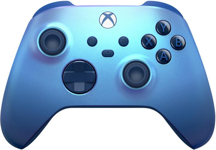 Xbox Series Bezdrátový ovladač, Aqua Shift Special Edition