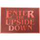 Rohožka Stranger Things - Enter The Upside Down, gumová