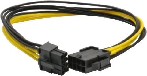 Gembird CABLEXPERT kabel prodloužení PCI express 8pin (6+2), 30cm