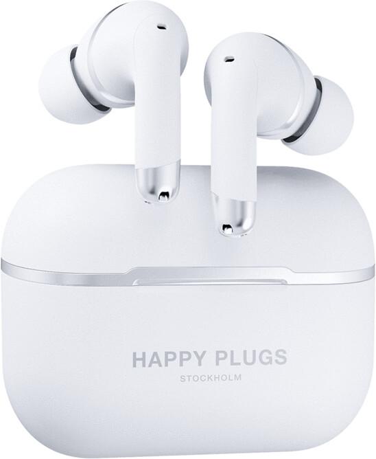 Happy Plugs Air 1 ANC, bílá