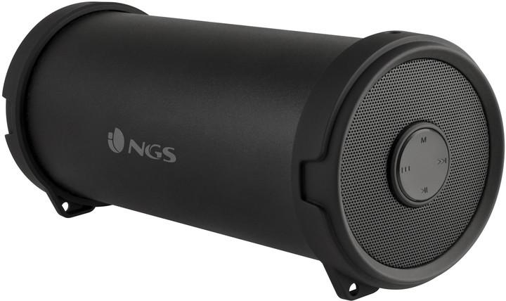 NGS Roller Flow Mini, černá