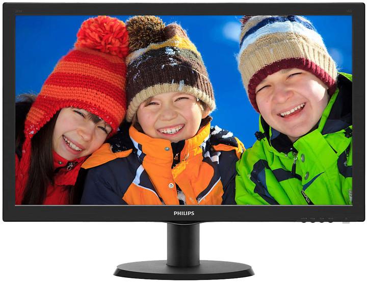 "Philips 243V5QHSBA - LED monitor 24"""