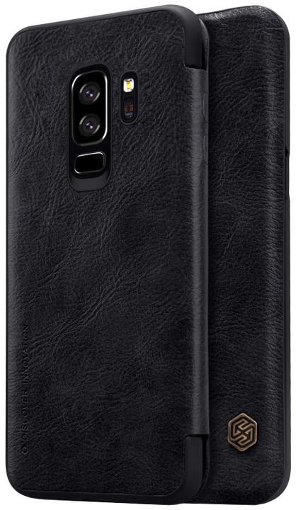 Nillkin Qin Book pouzdro pro Samsung G965 Galaxy S9 Plus, Black