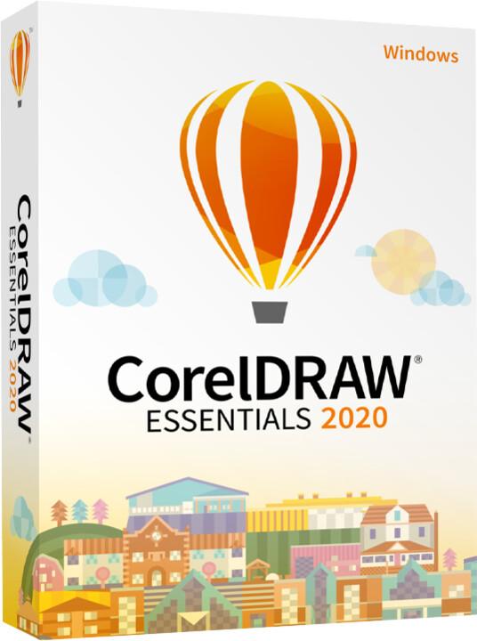 CorelDRAW Essentials 2020 CZ/PL - Box