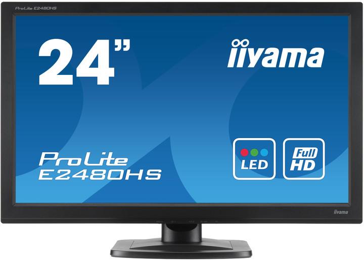 "iiyama ProLite E2480HS - LED monitor 24"""
