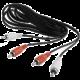 Gembird CABLEXPERT kabel přípojný 2xcinch/2xcinch, 3m, audio