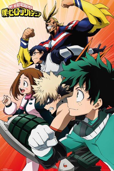 Plakát My Hero Academia - Heroes