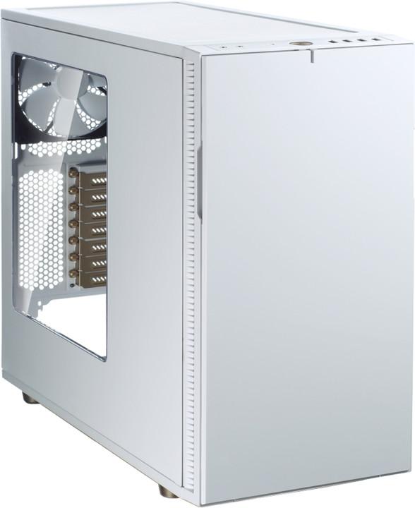 Fractal Design pro Define R5 White & Gold - průhledný bok