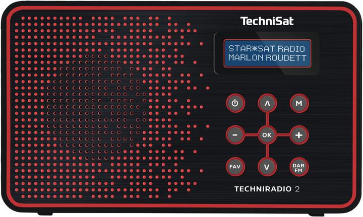 TechniSat DigitRadio 2, černá/červená
