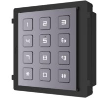 Hikvision DS-KD-KP, antivandal, numerická klávesnice IP65