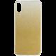 EPICO Pružný plastový kryt pro iPhone X / iPhone Xs GRADIENT, zlatý