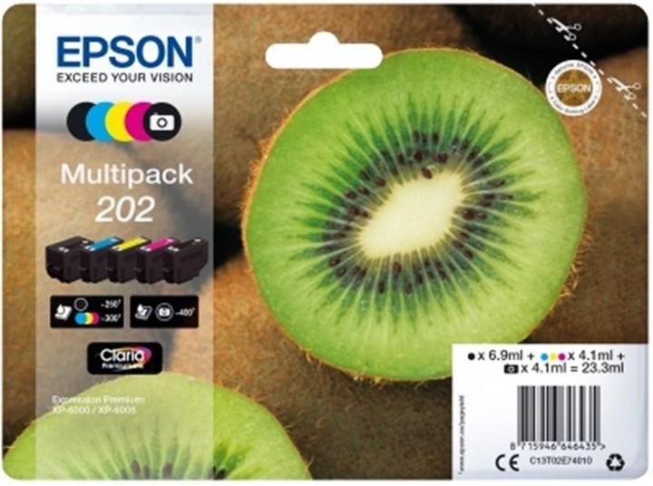 Epson C13T02E74010, 202 claria multipack
