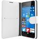 FIXED flipové pouzdro pro Microsoft Lumia 650, bílá