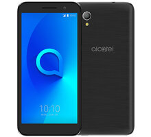 Alcatel 1 2019 (5033F), 1GB/16GB, Metallic Black - 5033F-2AALE16