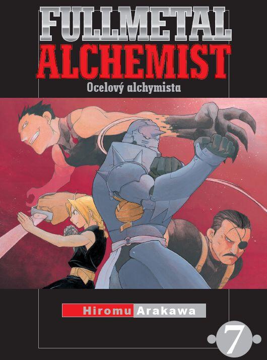Komiks Fullmetal Alchemist - Ocelový alchymista 07